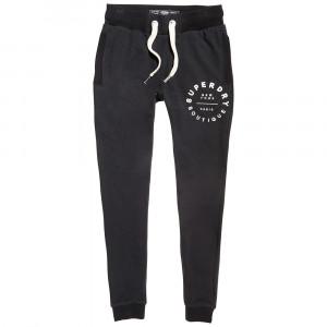 Applique Slim Pantalon Jogging Femme