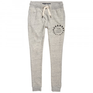 Applique Slim Pantalon Jogging Femme