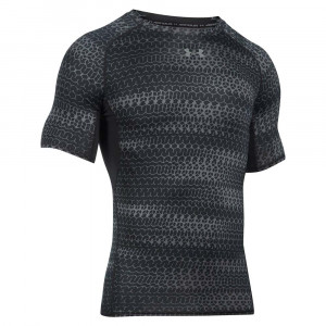 Armour Prt T-Shirt Mc Compres Homme