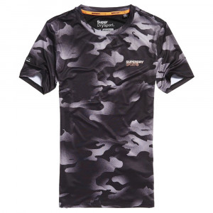 Athletic Dissolve Camo T-Shirt Mc Homme