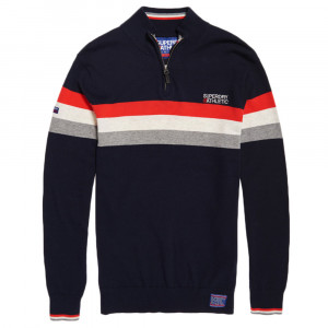 Athletic Tour Henley Pull Homme
