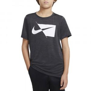 B Nk Dry Hbr Ss Top T-Shirt Mc Garçon