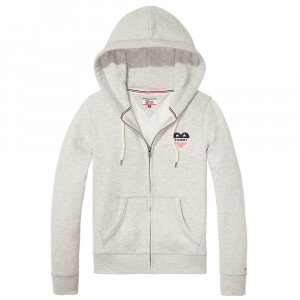 Basic Hd Sweat Zip Femme