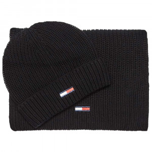 Basic Rib Pack Bonnet+Écharpe Homme