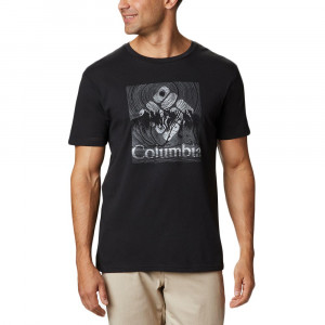 Basin Butte Ss Graphic T-Shirt Mc Homme