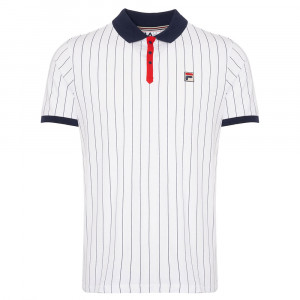 Bb1 Classic Vintage Bord Striped Polo Mc Homme