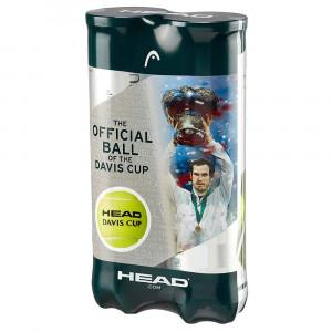 Bi-Pack Tour Davis Cup Balles Tennis Adulte