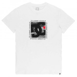 Big Dc Square T-Shirt Mc Homme