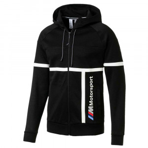 Bmw Mbmw Motorsport Hooded Sweat Zip Homme