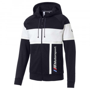 Bmw Motorsport Hooded Sweat Zip Homme