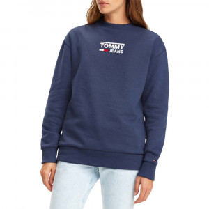Bold Tommy Crew Sweat Femme
