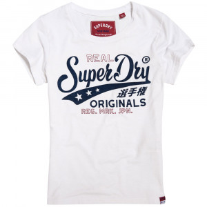 Bonded Denim Entry T-Shirt Mc Femme