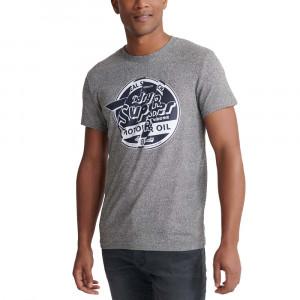 Brand Language Rip T-Shirt Mc Homme