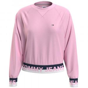 Branded Hem Sweat Femme