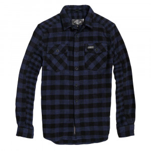 Buffalo Flannel Chemise Ml Homme