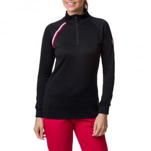 Cadran T-Shirt Ml 1/2 Zip Femme