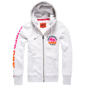 Calif Sunset Entry Sweat Zip Femme