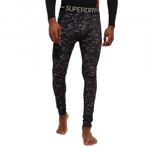 Carbon Baselayer Collant Homme