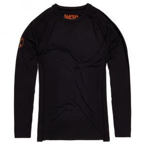 Carbon Baselayer Crew Sous-Vêtement Technique Homme