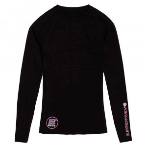 Carbon Baselayer Crew T-Shirt Ml Femme