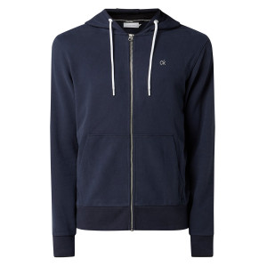 Carbon Brush Sweat Zip Homme