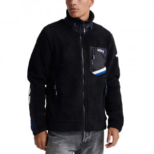 Celsius Sherpa Track Sweat Zip Homme