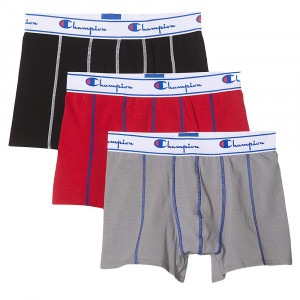 Champion Cartonnette Pack 3 Boxer Homme