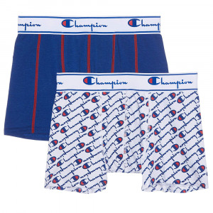 Champion Mix Cartonnette Pack 2 Boxer Homme