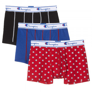 Champion Mix Cartonnette Pack 3 Boxer Homme
