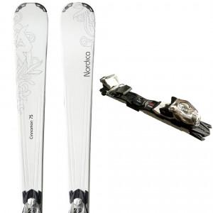Cinnamon 75 Ski Femme + N Adv P.r. Evo Fixations