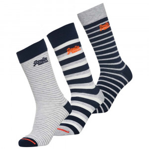 City Sock Pack 3 Chaussettes Homme