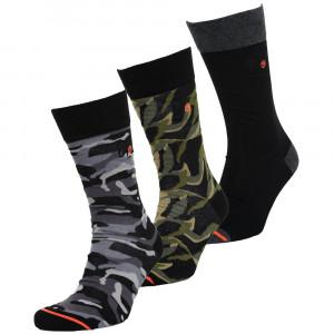 City Sock Triple Pack 3 Chaussettes Homme