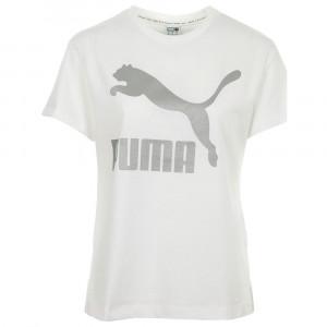 Cl Logo T-Shirt Mc Femme