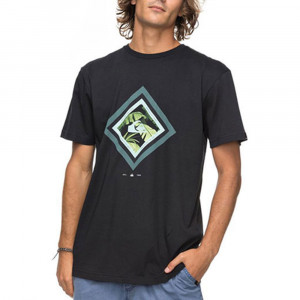 Classic Crimson Skyline T-Shirt Mc Homme