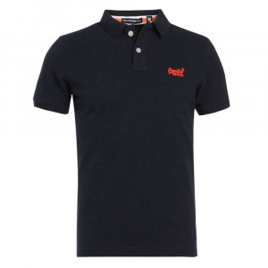 Classic Fit Pique Polo Mc Homme