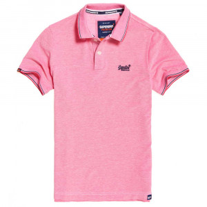 Classic Poolside Pique Polo Mc Homme