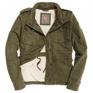 Classic Winter Rookie Military Veste Femme
