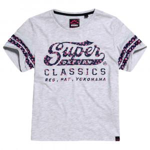 Classics Rose Infill Box T-Shirt Mc Femme