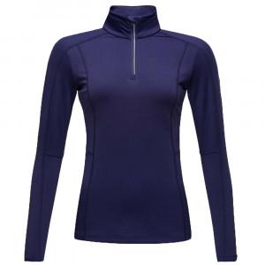 Classique T-Shirt Ml 1/2 Zip Femme