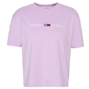 Clean Linear T-Shirt Mc Femme