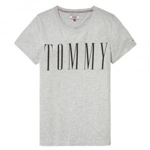Clean Logo T-Shirt Mc Femme