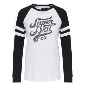 Code Baseball Top T-Shirt Ml Femme