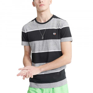 Collective Stripe T-Shirt Mc Homme