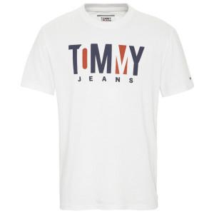 Contrast Logo T-Shirt Mc Homme