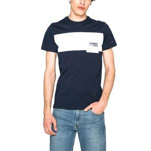 Contrast Pocket T-Shirt Mc Homme