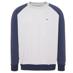 Contrast Sleeve Sweat Homme