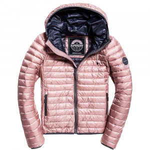 Core Down Hooded Jacket Doudoune Femme