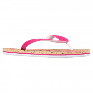 Cork Colour Pop Flip Flop Tong Femme