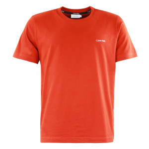 Cotton Chest Logo T-Shirt Mc Homme