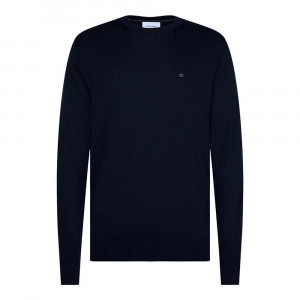 Cotton Silk C-Neck Pull Homme